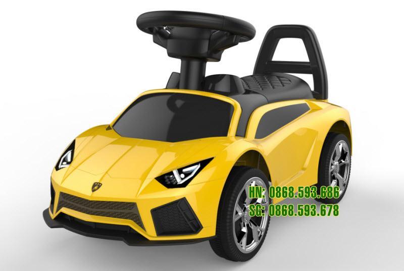 Xe chòi chân trẻ em Lamborghini 5188 màu vàng