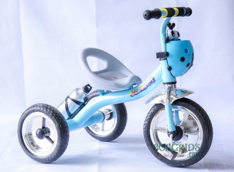 Xe đạp 3 bánh trẻ em 158 màu xanh ngọc