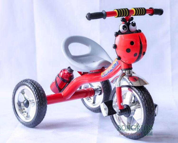 Xe đạp 3 bánh trẻ em 158 màu đỏ