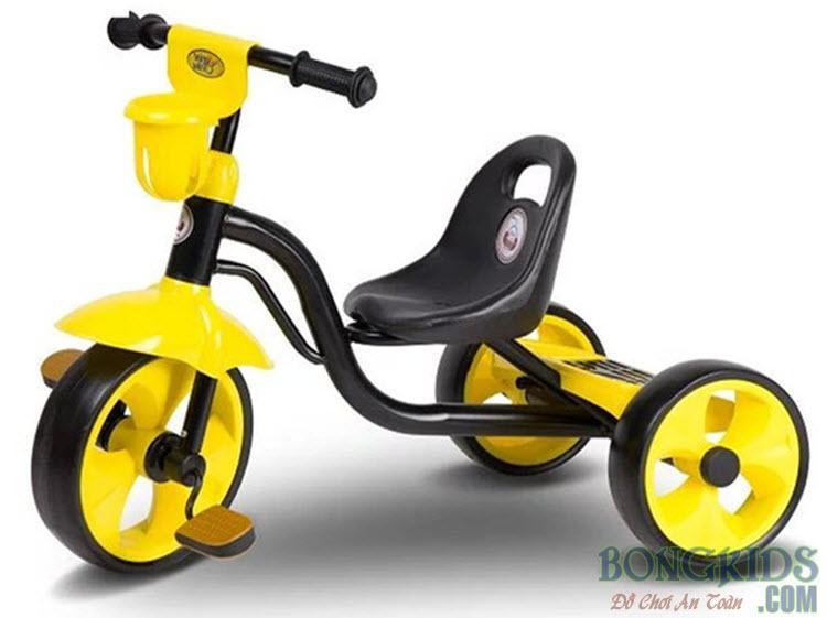 Xe đạp 3 bánh trẻ em 505 vàng