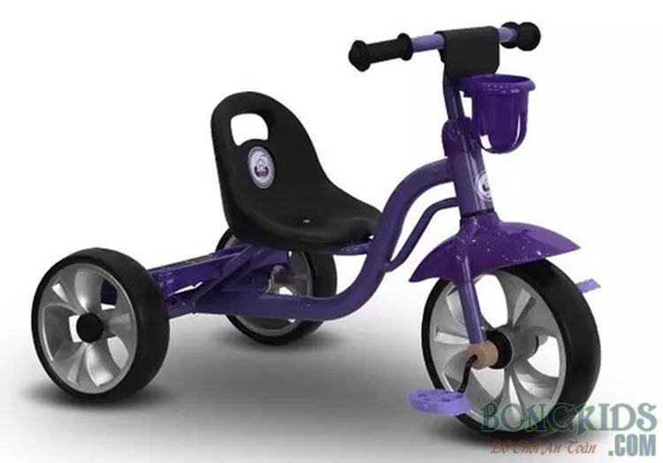 Xe đạp 3 bánh trẻ em 505 màu tím