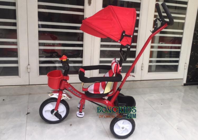 Xe 3 bánh trẻ em 6666 màu đỏ
