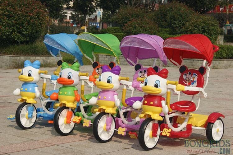 Xe đạp 3 bánh trẻ em FK013 đủ màu