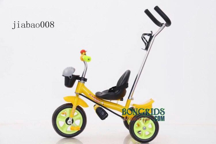 Xe đạp 3 bánh trẻ em Jiabao 008 có tay đẩy tiện dụng