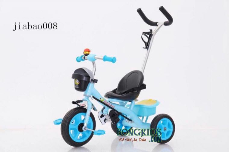 Xe đạp 3 bánh trẻ em Jiabao 008 màu xanh
