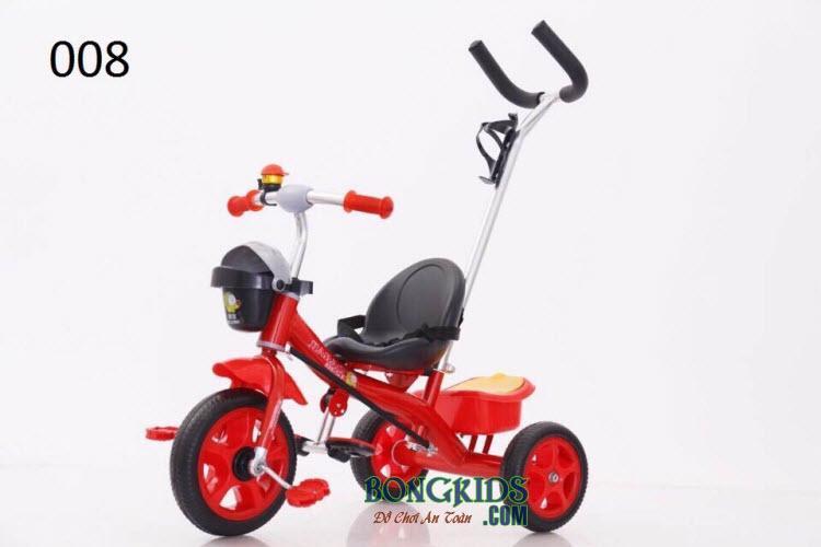 Xe đạp 3 bánh trẻ em Jiabao 008 màu đỏ