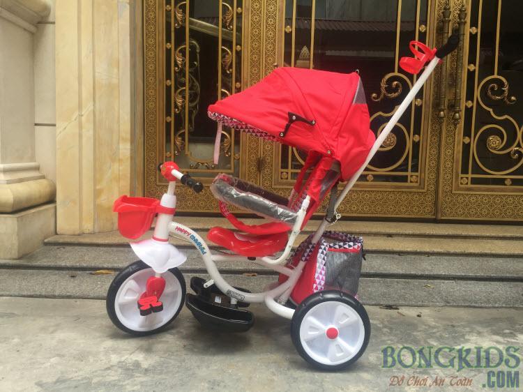 Xe đẩy đạp 3 bánh FK019 đỏ