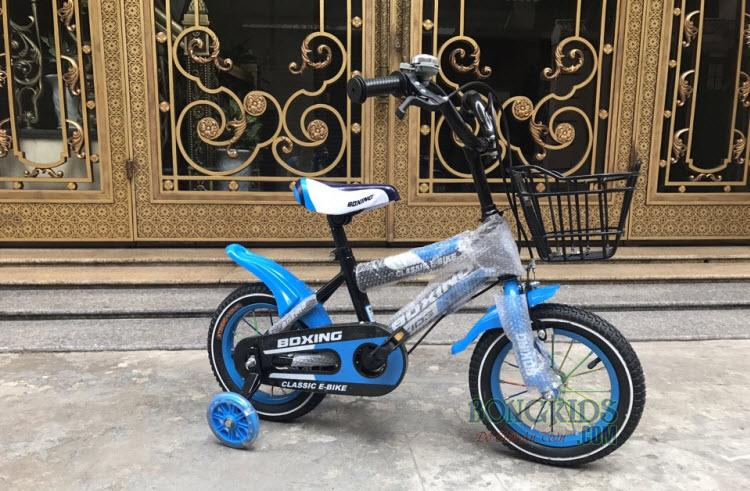 Xe đạp trẻ em BDXING 12 inch xanh