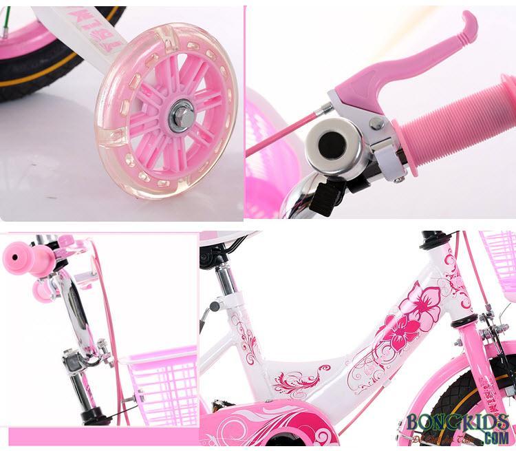 xe đạp cho bé gái cao cấp