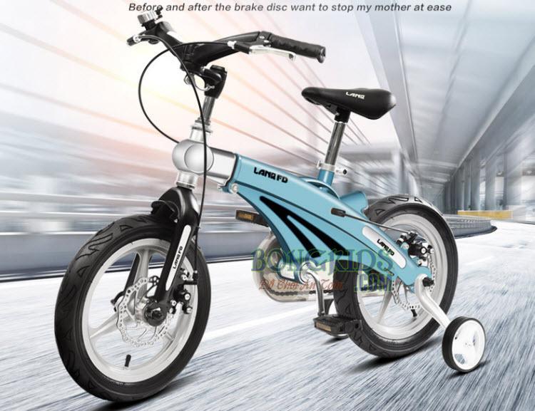 Xe đạp trẻ em FD12 màu xanh ngọc