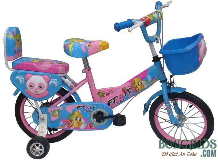 Xe đạp trẻ em FRUIT màu xanh da trời