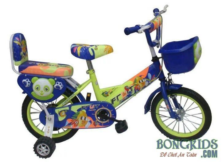 Xe đạp trẻ em FRUIT màu xanh lam