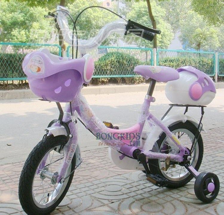 Xe đạp trẻ em G02 màu tím