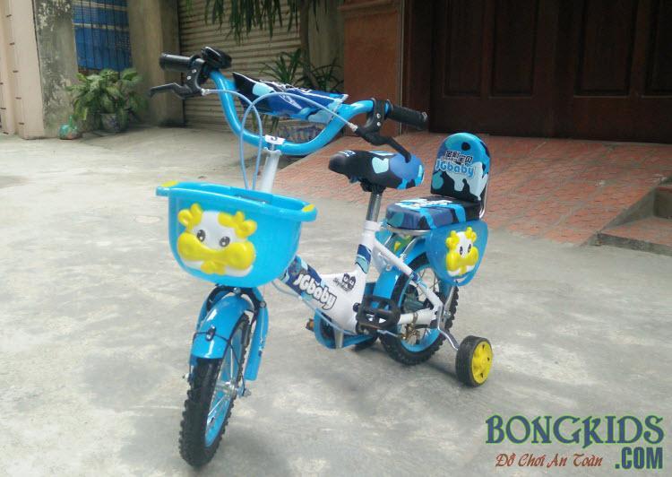 Xe đạp trẻ em JGBABY màu xanh dương