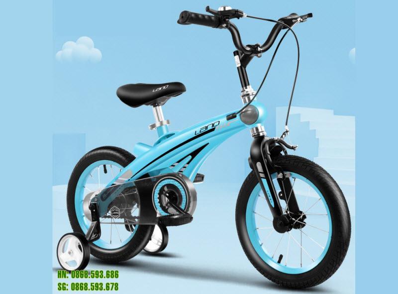 Xe đạp trẻ em lanq 39 màu xanh