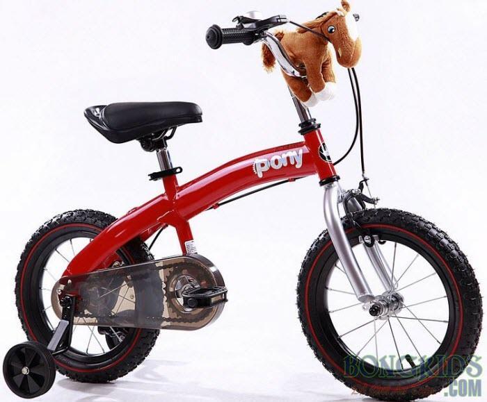 Xe đạp trẻ em royalbaby màu đỏ
