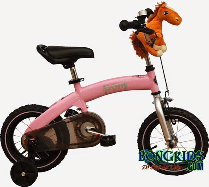 Xe đạp trẻ em royalbaby màu hồng