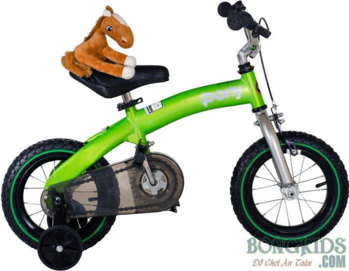Xe đạp trẻ em royalbaby màu xanh lá cây