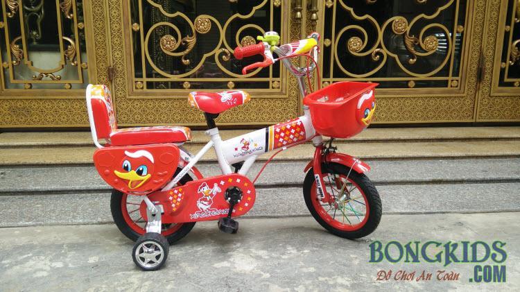 Xe đạp trẻ em XSQ màu đỏ