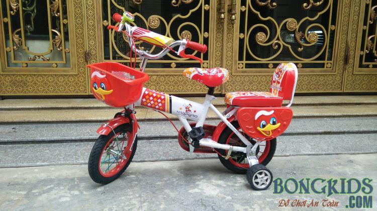 Xe đạp trẻ em XSQ màu đỏ đẹp