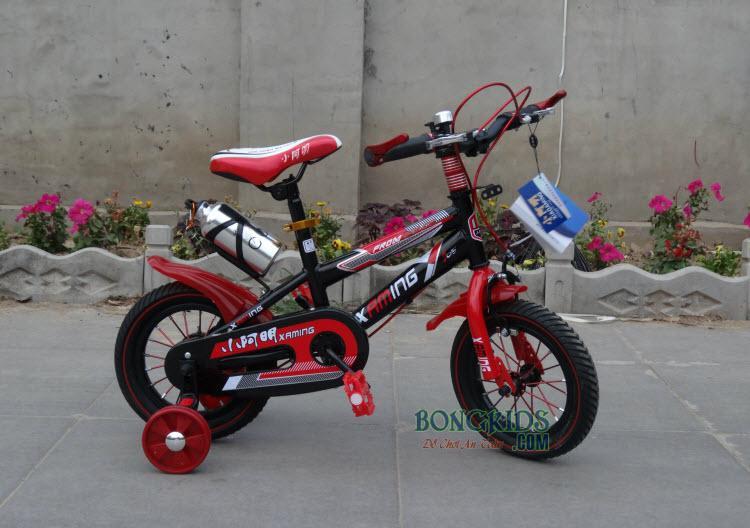 Xe đạp trẻ em XAMING màu đỏ 12in