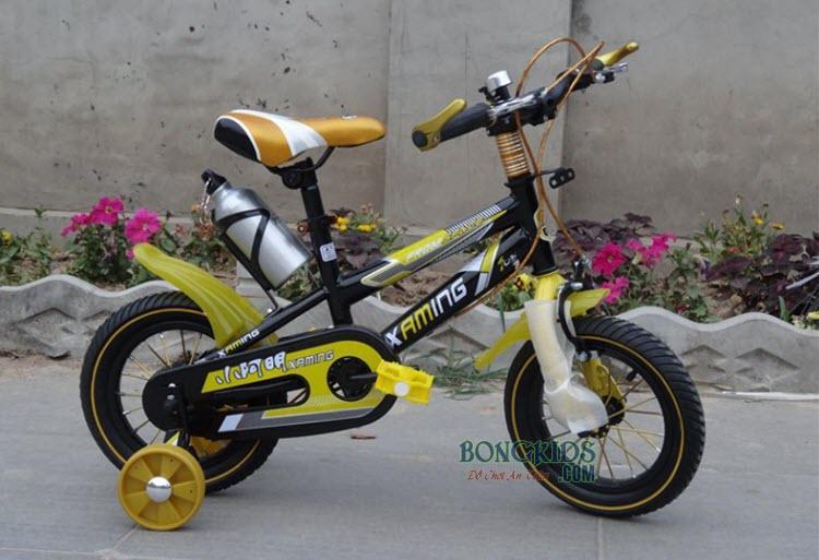 Xe đạp trẻ em XAMING màu vàng 12in