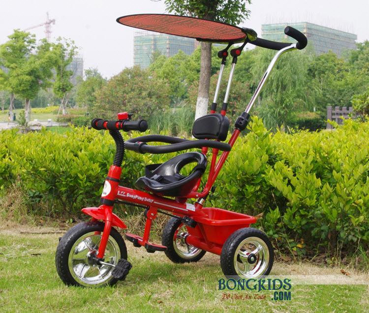 Xe đạp 3 bánh trẻ em T301 đỏ