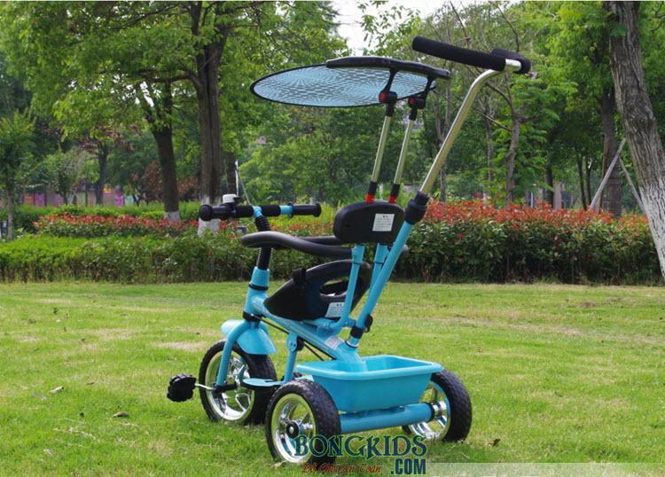 Xe đạp 3 bánh trẻ em T301 xanh dương