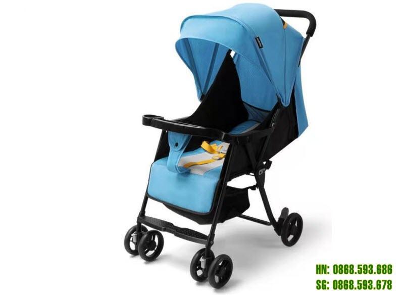 Xe đẩy cho bé Seebaby QQ3 màu xanh