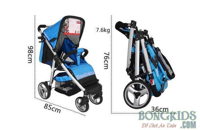 Xe đẩy trẻ em 2 chiều T10A