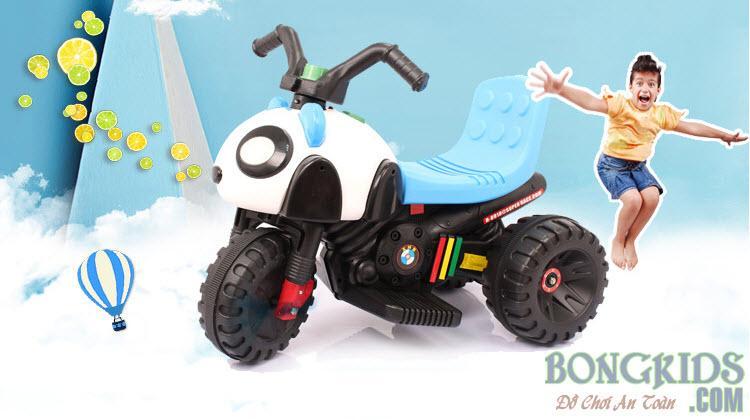Xe máy điện trẻ em hình gấu trúc H-8918P2
