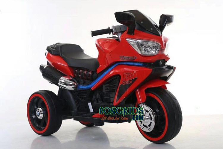 Xe máy điện trẻ em BLK-918 màu đỏ