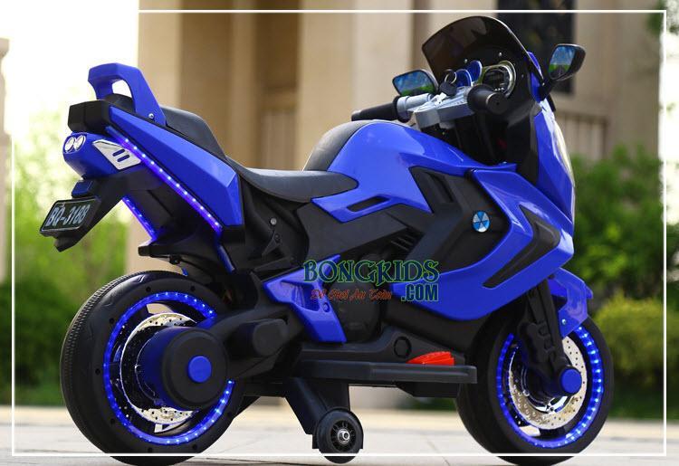 Xe máy điện trẻ em BQ-3188 Màu xanh