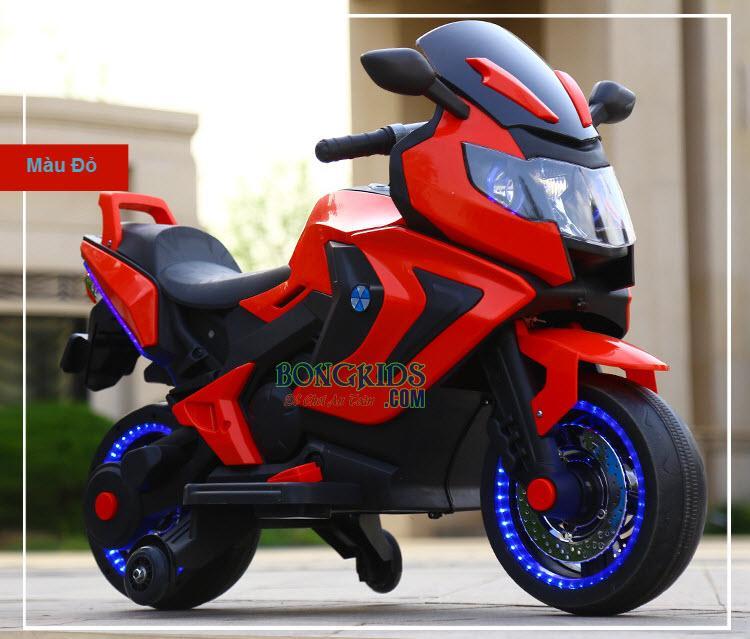 Xe máy điện trẻ em BQ-3188 màu đỏ