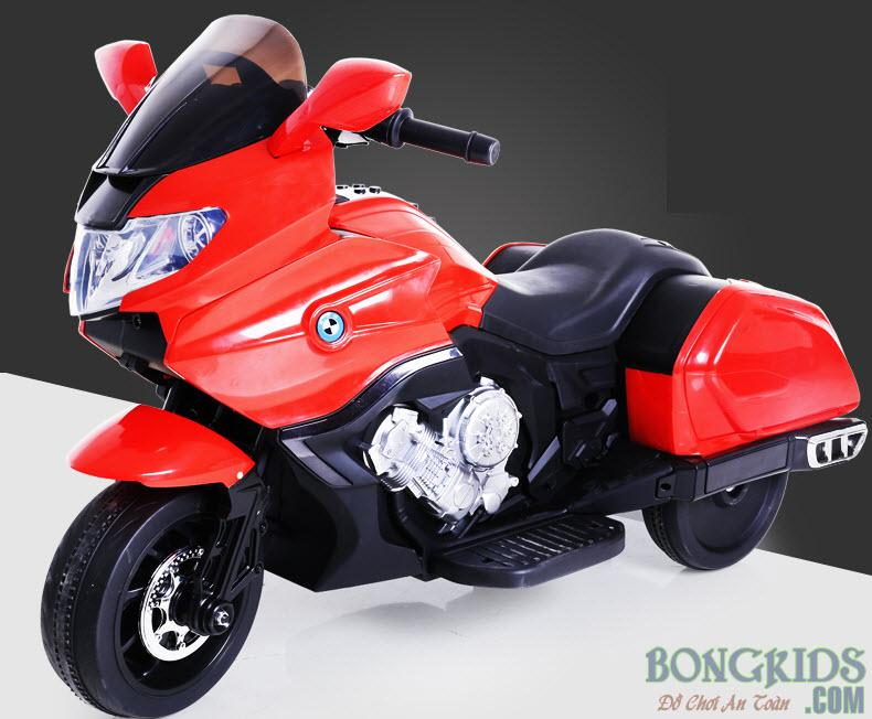 Xe máy điện trẻ em CX6606 màu đỏ