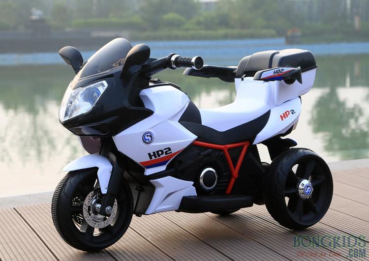 Màu đen Xe máy điện trẻ em dáng thể thao FB 6187