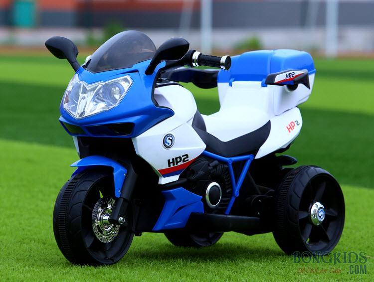 Màu xanh Xe máy điện trẻ em dáng thể thao FB 6187