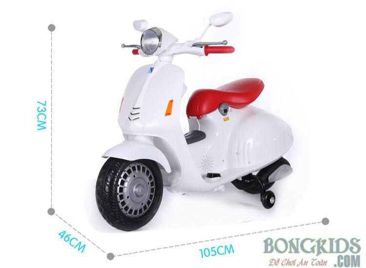 Xe máy điện trẻ em Vespa YH-8820