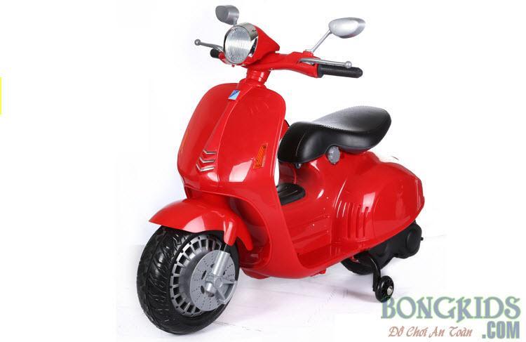 Xe máy điện trẻ em Vespa YH-8820 màu đỏ