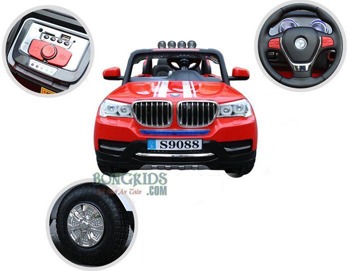 Xe ô tô điện trẻ em S-9088 (4 động cơ) chi tiết