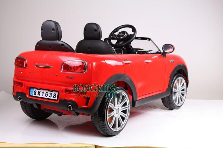 Xe ô tô điện trẻ em Mini Cooper SX-1638 (Hai ghế trước sau)