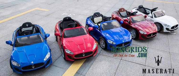 Dàn siêu xe hơi điện cho bé Maserati CT-528 Full Color