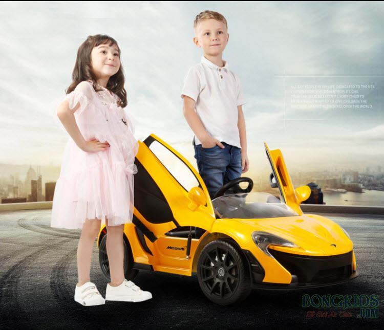 Xe ô tô điện trẻ em Mclanren 672R cho bé trai và bé gái