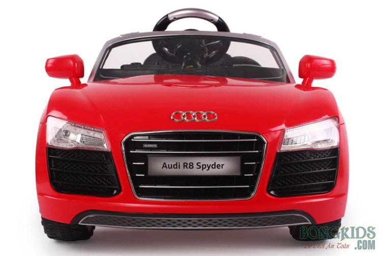 Xe ô tô điện trẻ em Audi R8-7995 đỏ