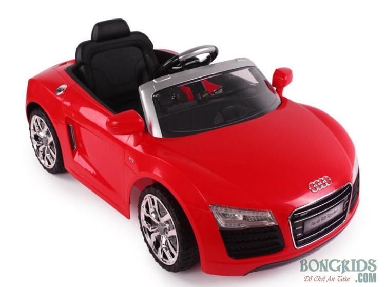 Xe ô tô điện trẻ em Audi R8-7995 đỏ đẹp
