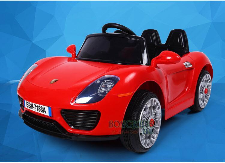 Xe ô tô điện trẻ em BBH-7188 màu đỏ
