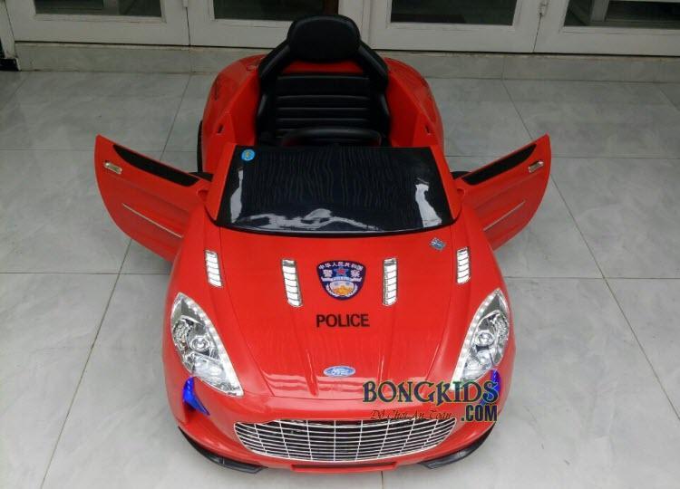 Xe ô tô điện trẻ em cảnh sát XEL-999
