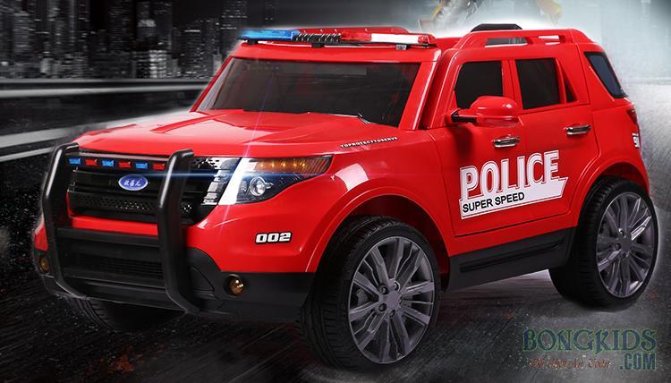 Xe ô tô điện trẻ em cảnh sát YH-811
