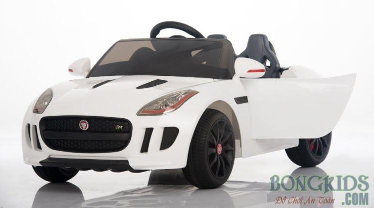 Xe ô tô điện trẻ em DMd-218 trắng