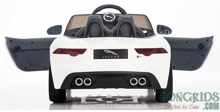 Xe ôtô điện Jaguar DMD-218 cho trẻ em - màu trắng